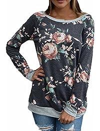 blusas de mujer invierno Switchali ropa de mujer en oferta otoño camisetas manga larga mujer deporte de moda 2017 elegantes sudaderas mujer baratas floral casual sudadera sin capucha