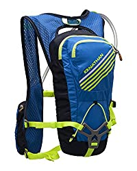 Nathan Grit Hydration Pack, 2-Liter, Electric Blue