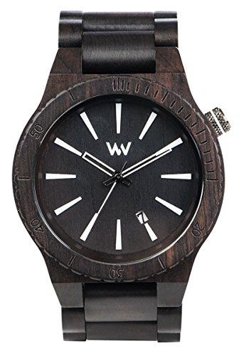 WeWood Assunt Black Herren-Holzuhr