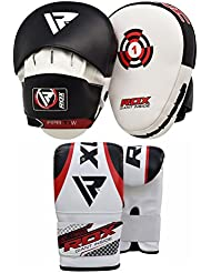 RDX Beyond Fighting - Almohadillas de golpeo para deportes de combate y contacto, multicolor