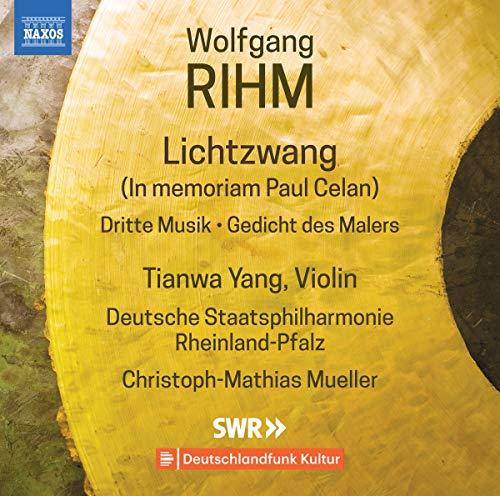 Musique pour Violon et orchestre Vol.1 - Lichtzwang (In memoriam Paul Celan) - Dritte Musik - Gedicht des Malers