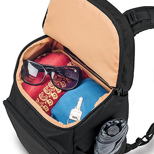 Pacsafe Citysafe CS350Diebstahlschutz Rucksack, blaugrün (türkis) - 20232 schwarz