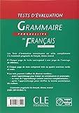 Image de Tests d'évaluation de la grammaire progressive du français - Niveau avancé - Livre