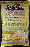 Fein mildes Sauerkraut 2x 500g Beutel (pasteurisiert)