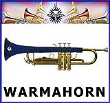 Étui de protection en néoprène pour trompette chaud érable, bleu