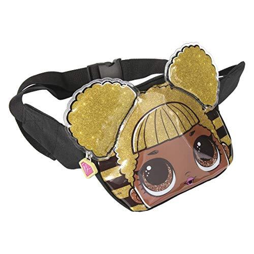 L O L Surprise! | Mädchen Gürteltasche | Mädchen Tasche | Handtasche | Einzigartiges und exklusives Design! | Das perfekte Geschenk! | Groß für Feiertage u. Tägliche Tasche! | Queen Bee Bauchtasche! (Kleid Designs Für Kinder)