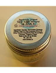 Bimble Organic Raw Cane Sugar Natural Lip Scrub 25g - Pink Grapefruit Flavour