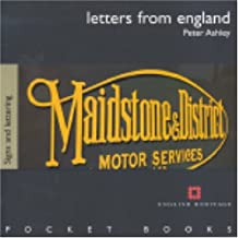 By Peter Ashley - Letters from England - Traditional Lettering (English Heritage Pocket Books)