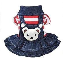 Saisiyiky pequeño Perros Accesorios Ropa Mascotas Disfraces suéter para Perros Trajes de Halloween Camisetas para Perrito