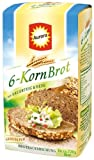 Aurora 6-Korn Brot Brotbackmischung,1er Pack (1x 500 g)