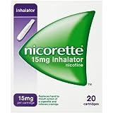 Nicorette Inhalator 15 mg, 20 Cartridges