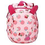 GWELL Süß Hase Babyrucksack mit Leine Kindergartenrucksack Backpack Schultasche Kleinkind Kinder Mädchen rosa