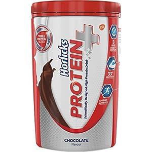 Horlicks Protein+ Health and Nutrition Drink – 400 g Pet Jar (Chocolate)