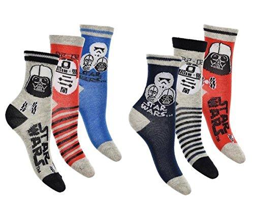 gen Socken (31 - 34, mehrfarbig) (Star Wars Socken)