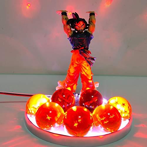 Dragon Ball Z Son Goku Bolas De Cristal Led Iluminación Bombilla Control Dragon Bola Super Goku Espíritu Bomba Led Li Ghts