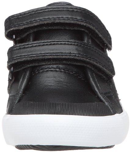 Le Coq Sportif Saint Malo Syn Inf Strap, Baskets mode mixte enfant Noir (Black/Olympian Blue)
