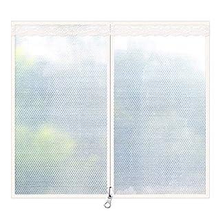 WAHHW Cortinas Calientes de Ventanas Engrosadas, Cortinas Selladas Película de Burbujas a Prueba de Viento Aislamiento Protección contra el Frío Suministros de Invierno,80 * 120cm