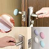 Honearn Türstopper, mit Griff, für Möbel, Gummi-Pads, selbstklebend, Wand, Tür-Stopper, Anti-Kollision, Golf, für Wohnzimmer oder Badezimmer, 3m (zufällige Farbe)
