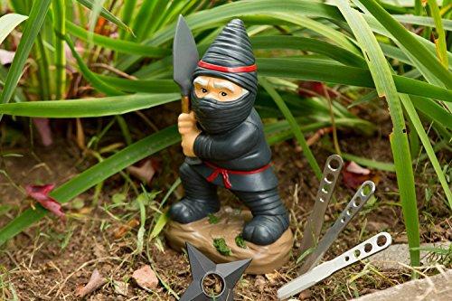 BigMouth Inc Ninja Gartenzwerg - 3