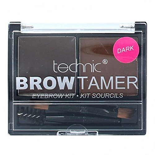 Technic Brow Tamer Eyebrow Shaping Kit-Dark (Brow Shaping Kit)