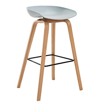 Hay about a stool aas 32 - Set di 2 sgabelli in rovere, altezza ...