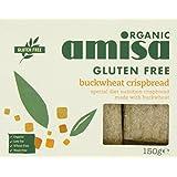 Amisa Organic Buckwheat Crispbread Gluten Free 150 g