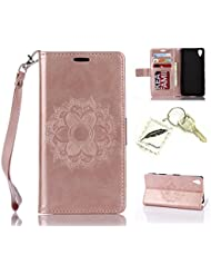 Polyurethane hard, slim bumper case for a Sony Xperia XA (5.0 inches), soft protection case, soft flexible case, shock-proof, thin, light, silicone cover, cap - photo frame keychain #AP 3