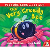 The Very Greedy Bee (Picture Book and CD Set)