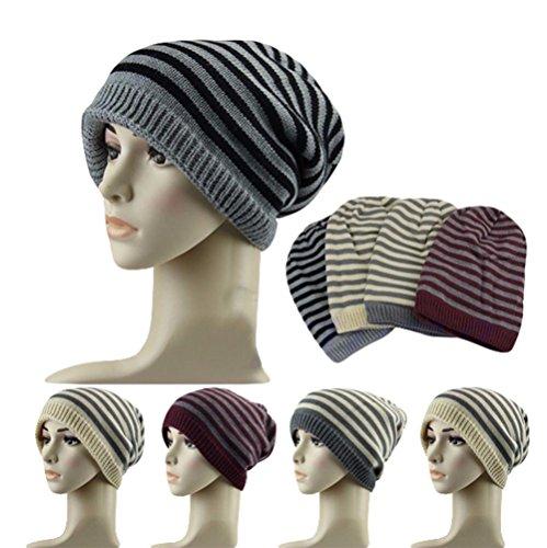 Da.Wa in Autunno E in Inverno Liner Hat Berretto Di Lana Cappello Caldo rosso scuro