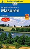 Radwanderkarte BVA Radwandern in Masuren 1:75.000 (Radwanderkarte 1:75.000)