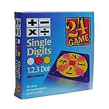 Original 24 Game Cards Single Digits