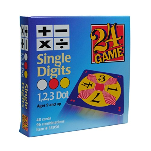 Original 24 Game Karten mit Einzelziffern -