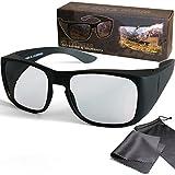 Sur lunettes 3D pour les porteurs de lunettes - Polarisées passives - Pour le...