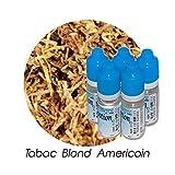 MA POTION - Lot de 5 E-Liquide TABAC Blond Américain, Eliquide Français Ma Potion, recharge cigarette électronique. Sans nicotine ni tabac
