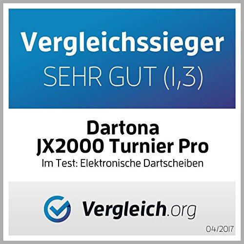 Elektronische Dartscheibe Dartona JX2000 Turnier Pro – Turnierscheibe mit 41 Spielen und über 200 Varianten - 4