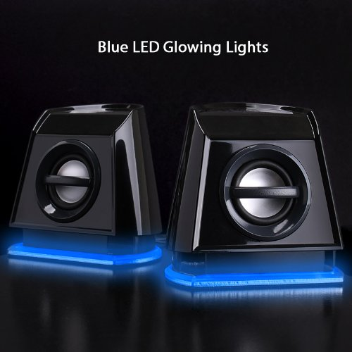 BassPULSE-Stereo-Speakers-USB-20-For-PC-Computer-Laptop-LED-with-Blue-Glow-Lights-Powerful-Bass-Passive-Subwoofers-by-Gogroove-Works-with-Apple-MAC-MacBook-Samsung-ASUS-Acer-Dell-HP-Lenovo-and-more