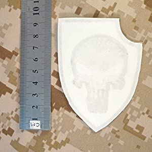 Multicam Black Punisher Shield US Marine Navy Seals DEVGRU Morale Embroideru Sew Thermocollant Écusson Patch