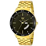 Lorenz MK-1070A Luxury Day & Date Functioning Royal Gold Watch for Men