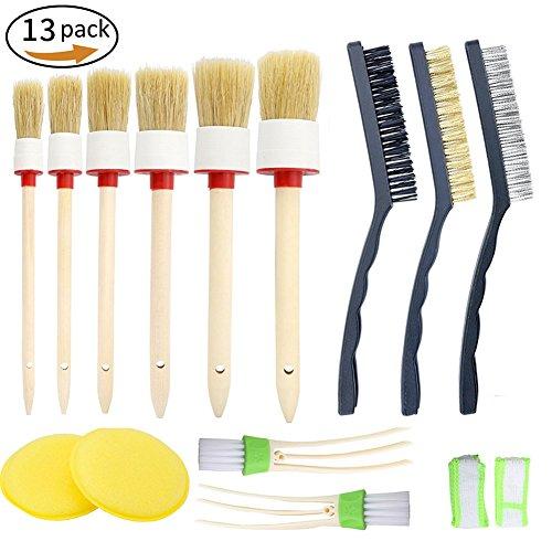 Spazzola-Pulitore-set-per-auto13-pezzi-Set-di-spazzole-per-auto-Vidillo-con-6-spazzole-per-capelli-naturali-di-cinghiale-3-spazzole-metalliche-2-condizionatori-per-auto-2-pastiglie-per-cera-per-auto-p