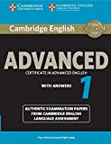 Cambridge English Advanced 1 for Revised Exam from 2015 Student's Book with Answers: Authentic Examination Papers from Cambridge English Language Assessment (Cae Practice Tests)