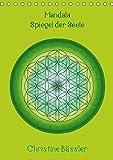 Mandala - Spiegel der Seele/CH-Version (Tischkalender 2019 DIN A5 hoch): Kreisbilder in verschiedenen Farben und Formen (Monatskalender, 14 Seiten ) (CALVENDO Glaube)