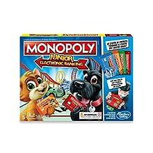 Hasbro Monopoly Junior Electronic Banking Jeu en boîte, e1842103