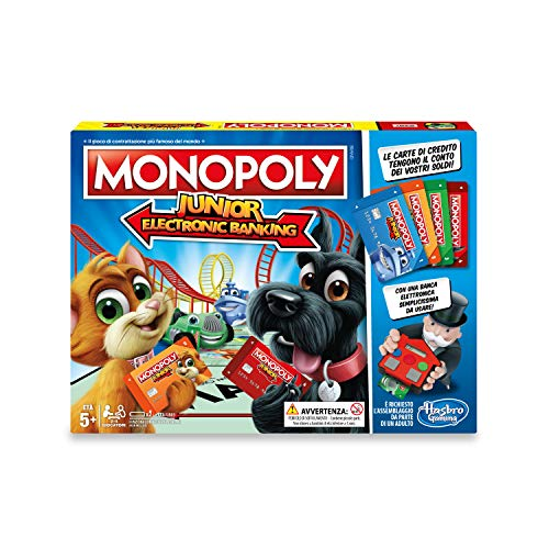 Hasbro Monopoly - Junior Electronic Banking - Box E1842103