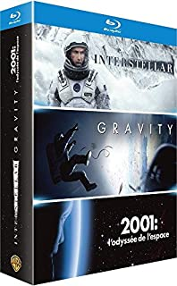 Coffret Voyage dans l'Espace : Interstellar + Gravity + 2001, L'odyssée de l'Espace - Coffret Blu-Ray (B00YZH1PQM) | Amazon price tracker / tracking, Amazon price history charts, Amazon price watches, Amazon price drop alerts