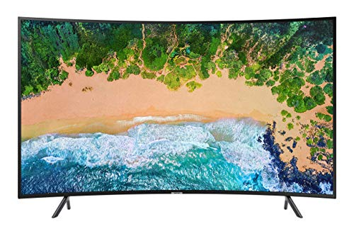 Samsung UE55NU7370UXZT UHD 4K Smart TV 55' (139.7 cm) Serie NU7370 2018 (Serie NU7300), Tecnologia LED, Nero