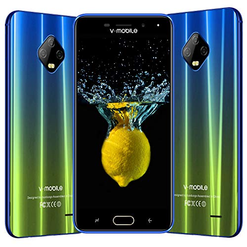2f90f161aae Moviles Libres Baratos 4G , V Mobile J7 5.5 Pulgadas 3GB RAM 32GB ROM ,  5800mAh