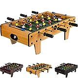 Mini Tischfußball, Maße: 70x37x25 cm, 3 Dekorvarianten, Gewicht: 4 kg, 6 Spielstangen, inkl. 2 Bälle