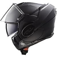 LS2 Motorcycle Helmets, Black, Size L