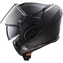 LS2 Casco de Moto Valiant Mat Limited Edition, completo Negro, Tamaño M