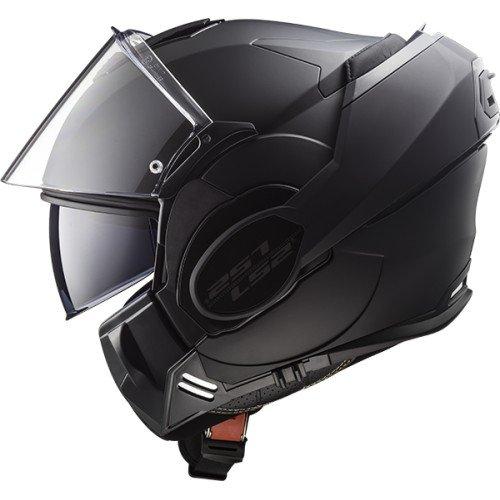 LS2 Casque moto VALIANT NOIR MAT LIMITED Edition - L, Noir, Taille L
